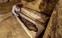 گورستان مصر باستان سر از خاک بیرون آورد