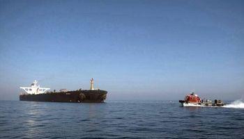 تصاویری جدید از نفتکش آزاد شده ایران در جبل الطارق!