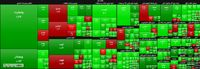 نقشه بازار سهام در انتهای معاملات آخرین روز هفته