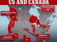 چند نفر در آمریکا کرونا گرفتند؟