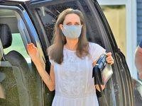 آنجلینا جولی با تیپ ۷۰میلیونی قرنطینه را شکست +عکس