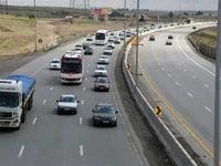 کاهش تردد وسایل نقلیه در جادههای کشور