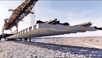 اتمام زیرسازی راهآهن قزوین- رشت