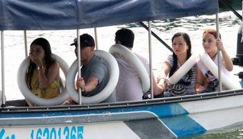 غرقشدن کشتی گردشگری کلمبیا در ۵دقیقه +تصاویر