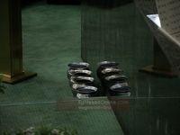 گلدانهای رای اعتماد به وزرا +عکس