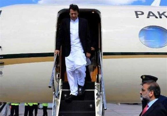 عمران خان وارد تهران شد