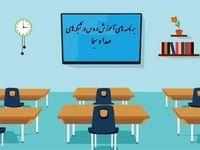جدول برنامه ۱۷شهریور مدرسه تلویزیونی ایران