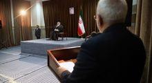 دیدار ظریف و مسئولان وزارت خارجه با رهبر انقلاب +عکس