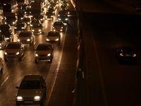 ترافیک سنگین و نیمهسنگین در محور کرج-چالوس