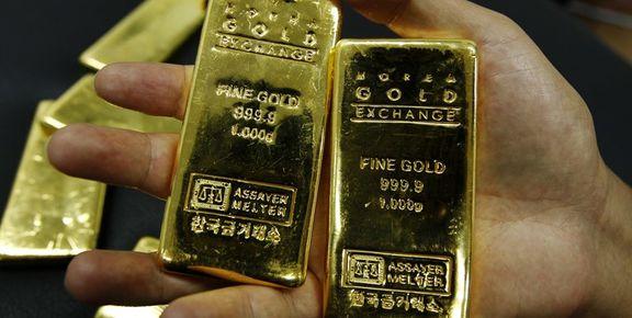 طلا 6دلار ارزان شد