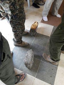 سنگ های داعشی +عکس