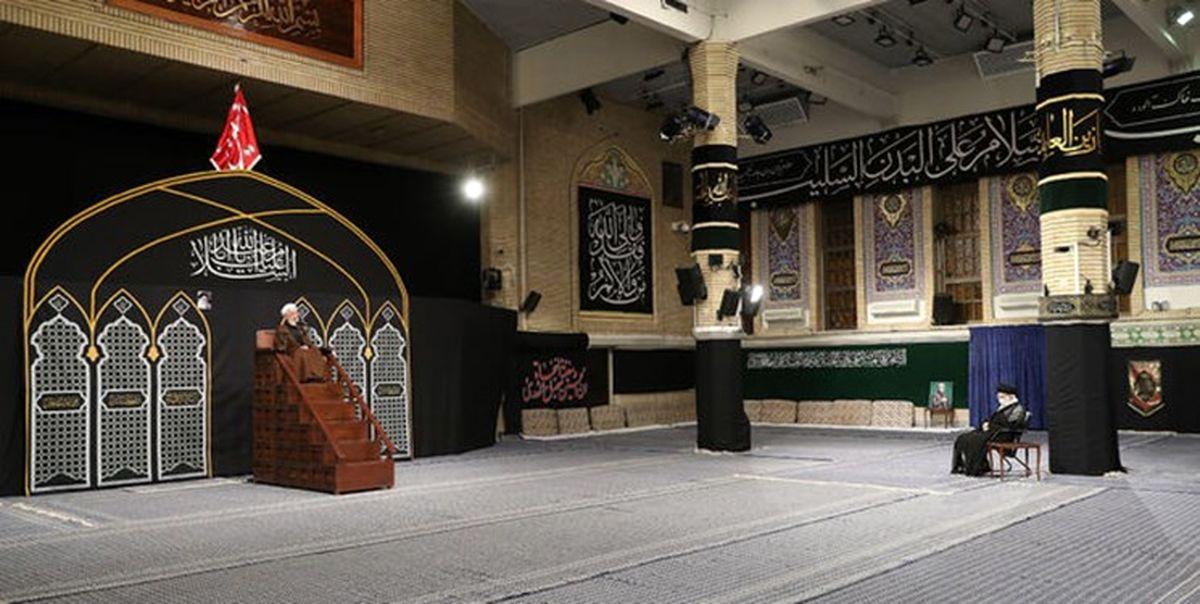 دومین شب مراسم عزاداری در حسینیه امام خمینی (ره)