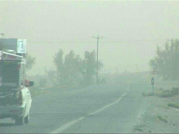 پیشبینی گرد و غبار در مناطق شرقی کشور