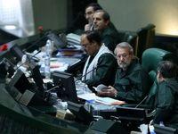 حضور تمامی نمایندگان مجلس با لباس سپاه در مجلس +تصاویر