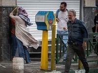 طوفان در تهران +تصاویر