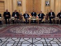ورود نخست وزیر سوریه به تهران +عکس