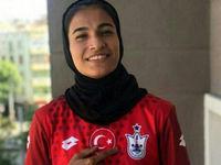 دختر فوتبالیست ۱۸ساله ایران لژیونر شد