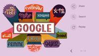تغییر لوگوی گوگل به مناسبت روز جهانی زن