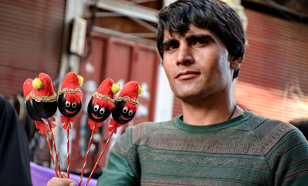 بازار خرمآباد در آستانه سال نو