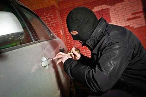 شرط بندی داماد و خواهر زن برای سرقت خودرو