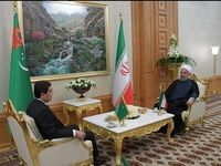 بیانیه مشترک ایران و ترکمنستان بر گسترش همکاریها