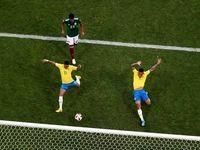 نیمار یک تنه برزیل را به مرحله بعدی برد
