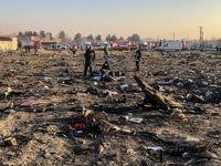 سقوط هواپیمای اوکراینی حوالی فرودگاه امام خمینی(ره)  +عکس