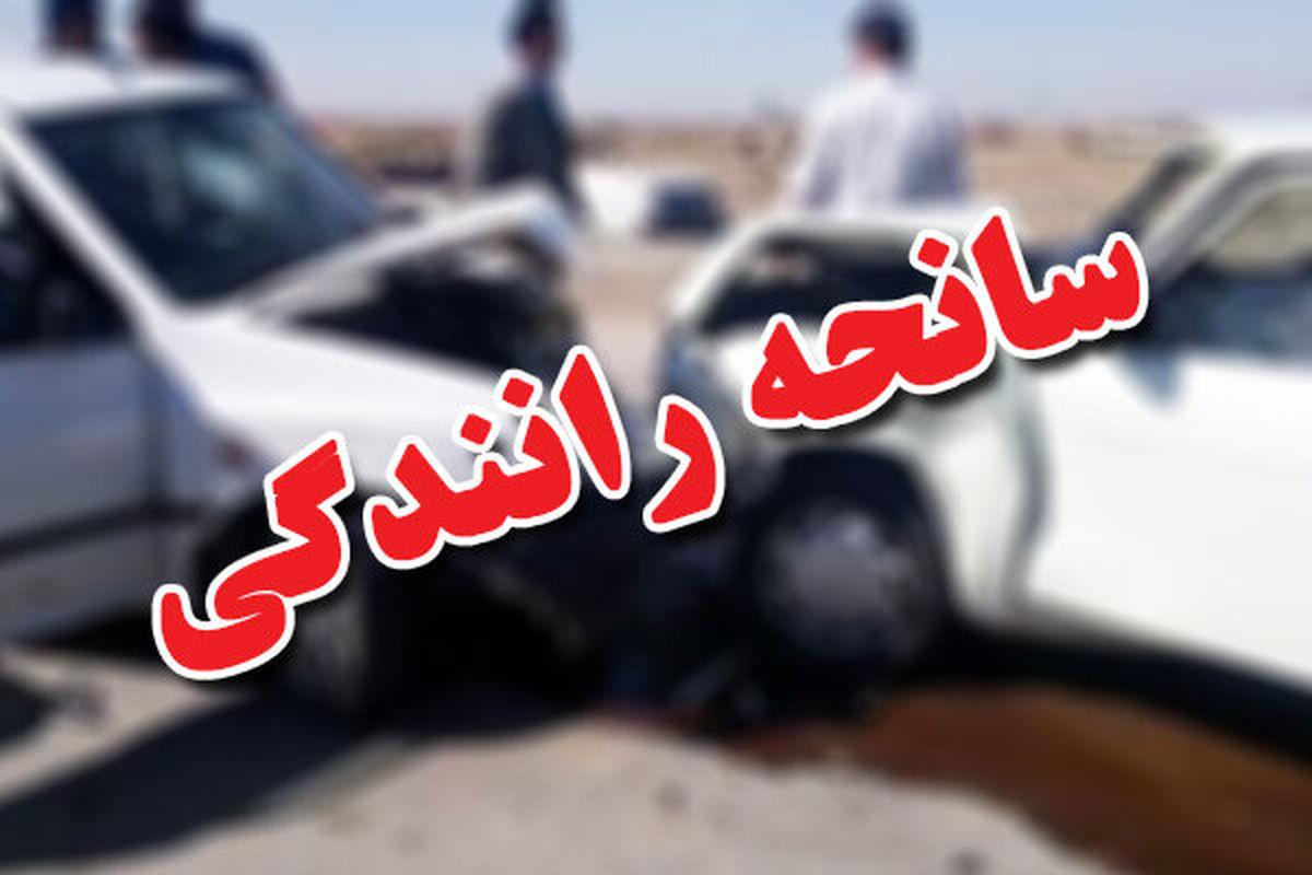 ۲ کشته در سانحه رانندگی در خمین