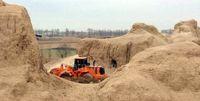 دزدی خاک از بزرگترین قلعه خشتی جهان