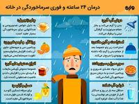ترفندهای درمان ۲۴ ساعته سرماخوردگی در منزل!