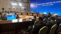 نشست وزیران خارجه ایران، روسیه و ترکیه در آستانه
