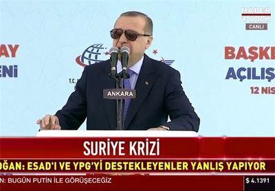 تاکید اردوغان به حفظ روابط همزمان با آمریکا، روسیه و ایران