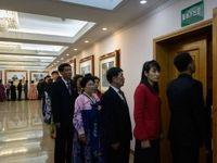 مشارکت اجباری مردم کره شمالی در انتخابات +فیلم