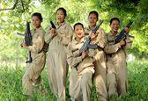 دختران کماندو در هند +عکس