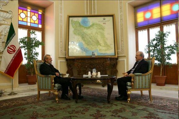 لاریجانی خواستار اعزام ستاد مدیریت کرونا به استانهای درگیر شد