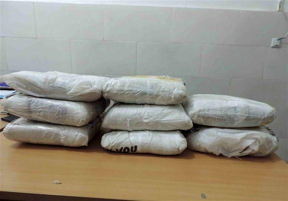 کشف ۱۰۰کیلوگرم مواد مخدر در کهگیلویه و بویراحمد
