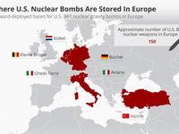 ناتو: بمبهای اتمی آمریکا در 6پایگاه در اروپا ذخیر شدهاند