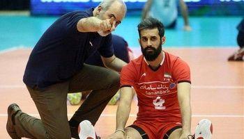 کاپیتان تیم ملی والیبال پناهنده شدهاست؟