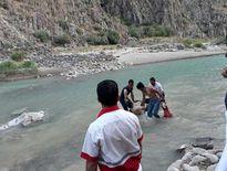 جان باختن4نفر در رودخانه هراز