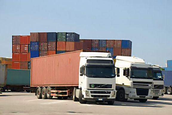 بیش از 5.5میلیون تن کالا از مرزهای زمینی صادر شد