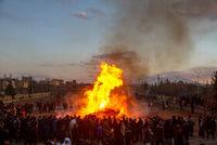 برگزاری جشن سده در کرمان و یزد +عکس