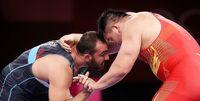 قهرمان المپیک حریف زارع در نیمه نهایی شد