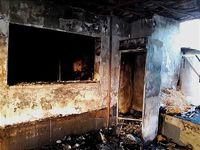 آتش، سفرهخانه سنتی را سوزاند +تصاویر