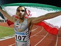 کفش های دونده ۱۰۰ متر ایران را دزیدند