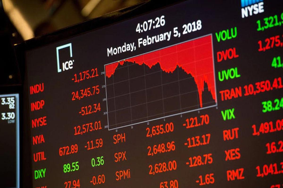 ادامه روند نزولی بازارهای سهام آمریکا