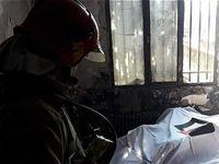 کشف پیکر سوخته دختر ۲۰ساله بین شعلههای آتش +تصاویر