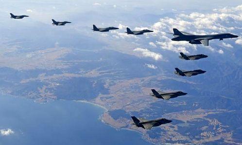 بمب افکن های آمریکا در رزمایش با کره جنوبی شرکت نمی کنند