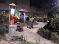 شلوغی پارکها در پی وقوع زلزله در تهران/ ضدعفونی نقاط تجمع مردم تا سه روز آینده