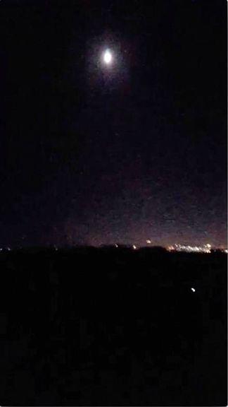 پدافند هوایی سوریه ۷۱ موشک را رهگیری کرد