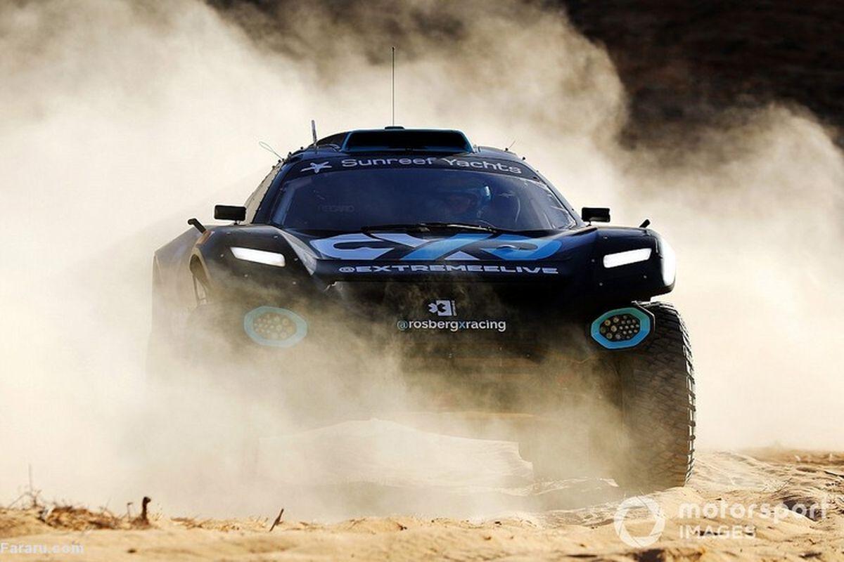 حادثه وحشتناک در مسابقات اتومبیلرانی عربستان!+فیلم